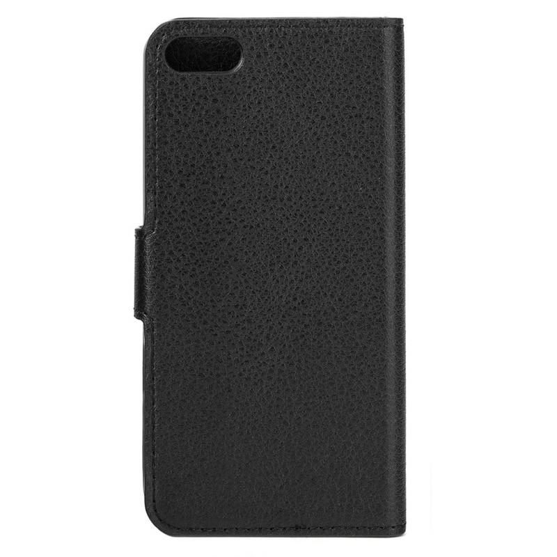 Xqisit Slim Wallet Case iPhone 5/5S Black - 5