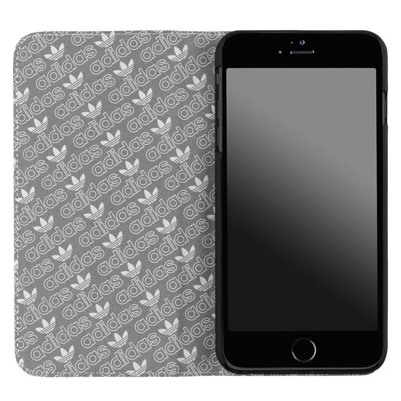Adidas Booklet Case iPhone 6 Plus White/Black - 3