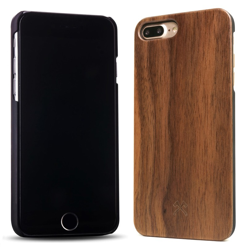 Woodcessories - EcoCase Classic iPhone 7 Plus Walnoot 02