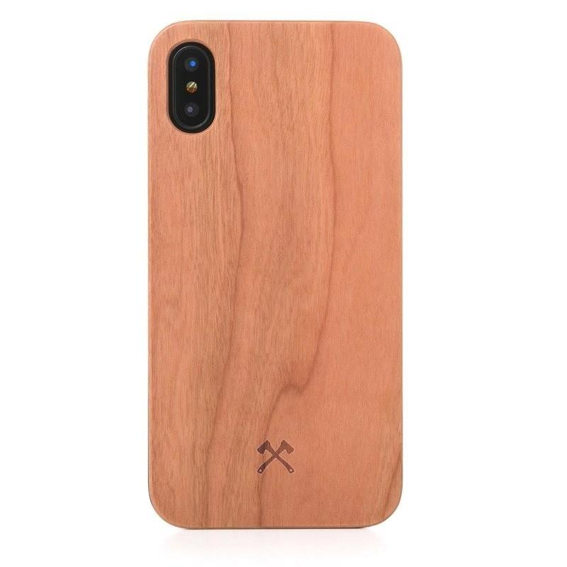 Woodcessories EcoCase Classic iPhone X/Xs Cherry - 1