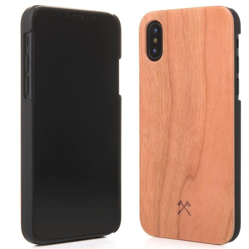Woodcessories EcoCase Classic iPhone X/Xs Cherry - 2