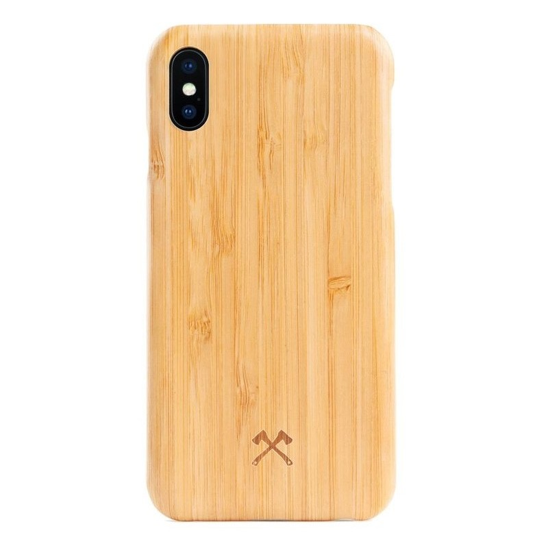 Woodcessories EcoCase Kevlar iPhone X/Xs Bamboo - 1
