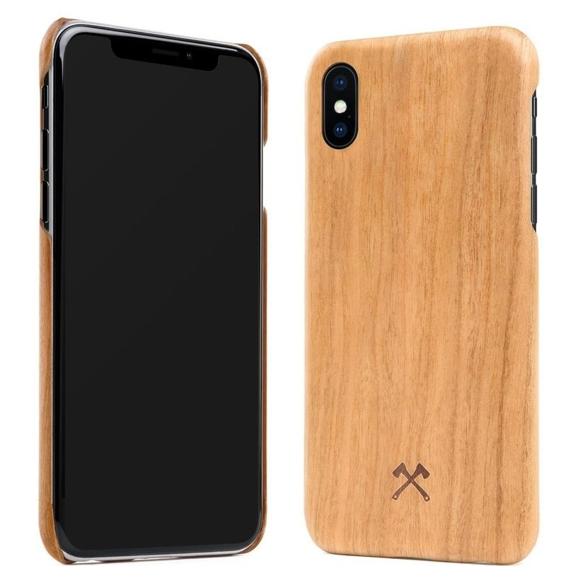 Woodcessories EcoCase Kevlar iPhone X/Xs Cherry - 3
