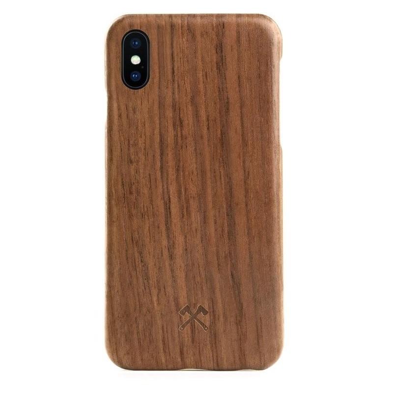 Woodcessories EcoCase Kevlar iPhone X/Xs Walnut - 1