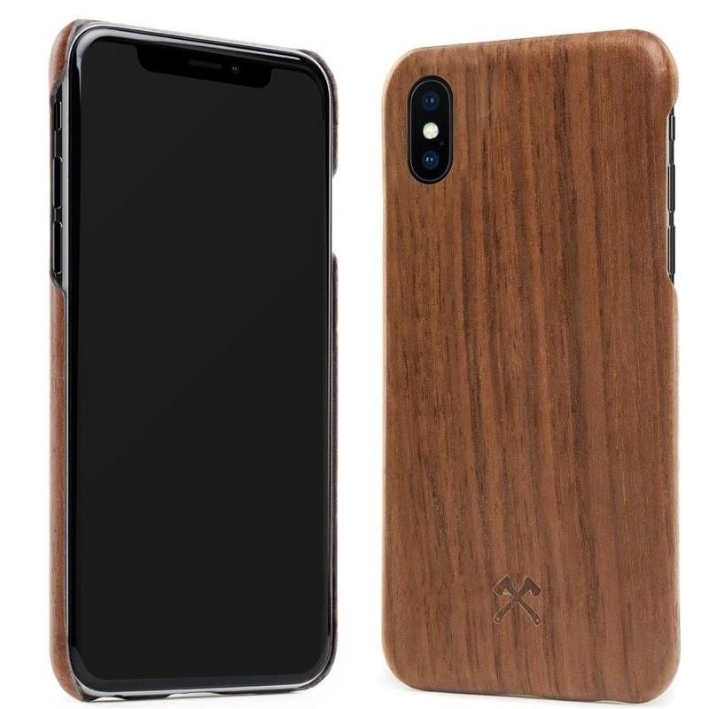 Woodcessories EcoCase Kevlar iPhone X/Xs Walnut - 3