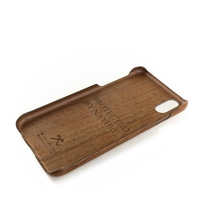 Woodcessories EcoCase Kevlar iPhone X/Xs Walnut - 4