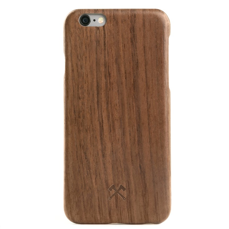 Woodcessories - EcoCase Kevlar iPhone 6/6S Walnoot 01