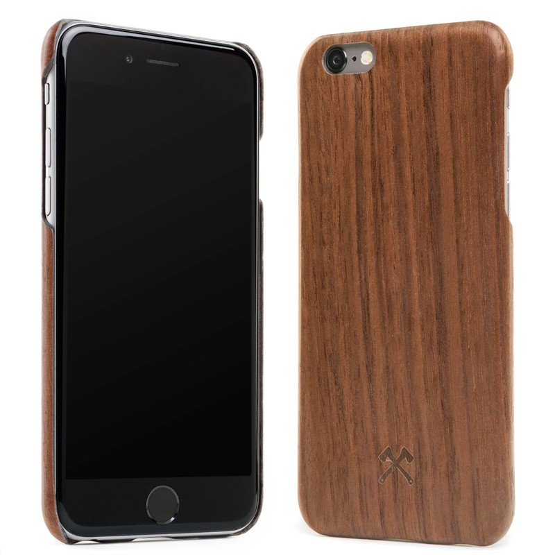 Woodcessories - EcoCase Kevlar iPhone 6/6S Walnoot 02