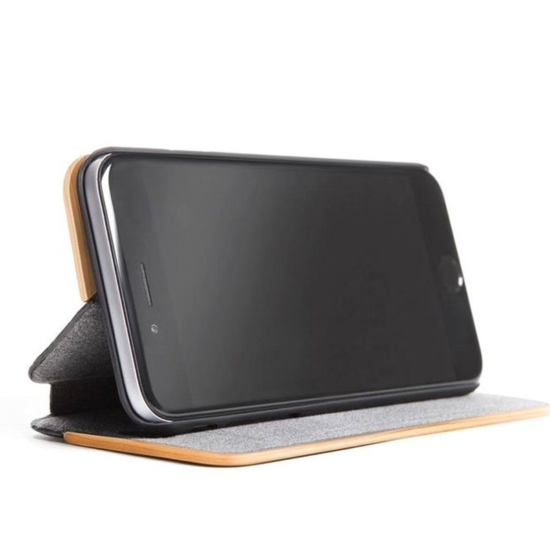 Woodcessories EcoFlip Case iPhone XS Maple - 2