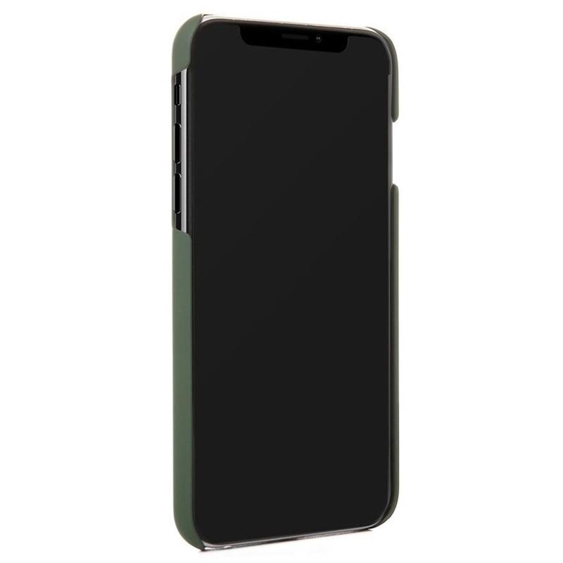 Woodcessories EcoSplit iPhone XS Max Hoesje Kersenhout/Groen 02