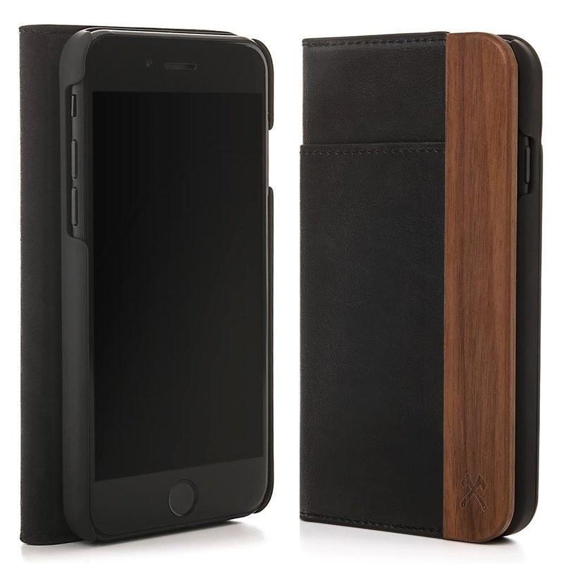 Woodcessories EcoWallet iPhone X/Xs Walnut - 2