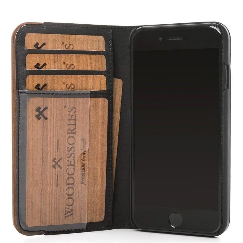 Woodcessories EcoWallet iPhone X/Xs Walnut - 4