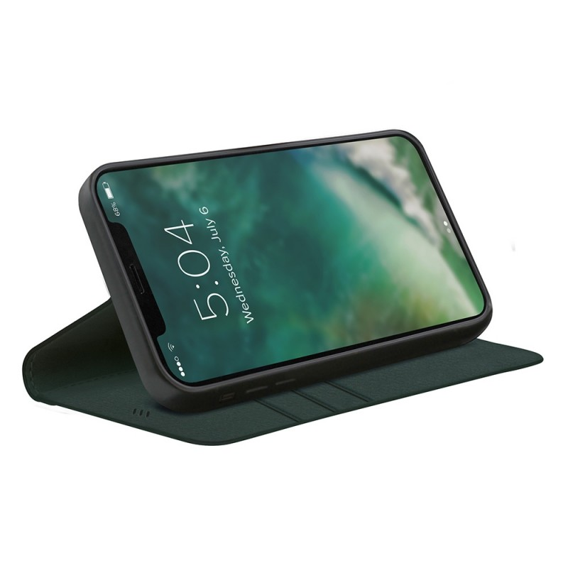 Xqisit Eco Wallet Selection iPhone 12 / 12 Pro 6.1 Groen - 1