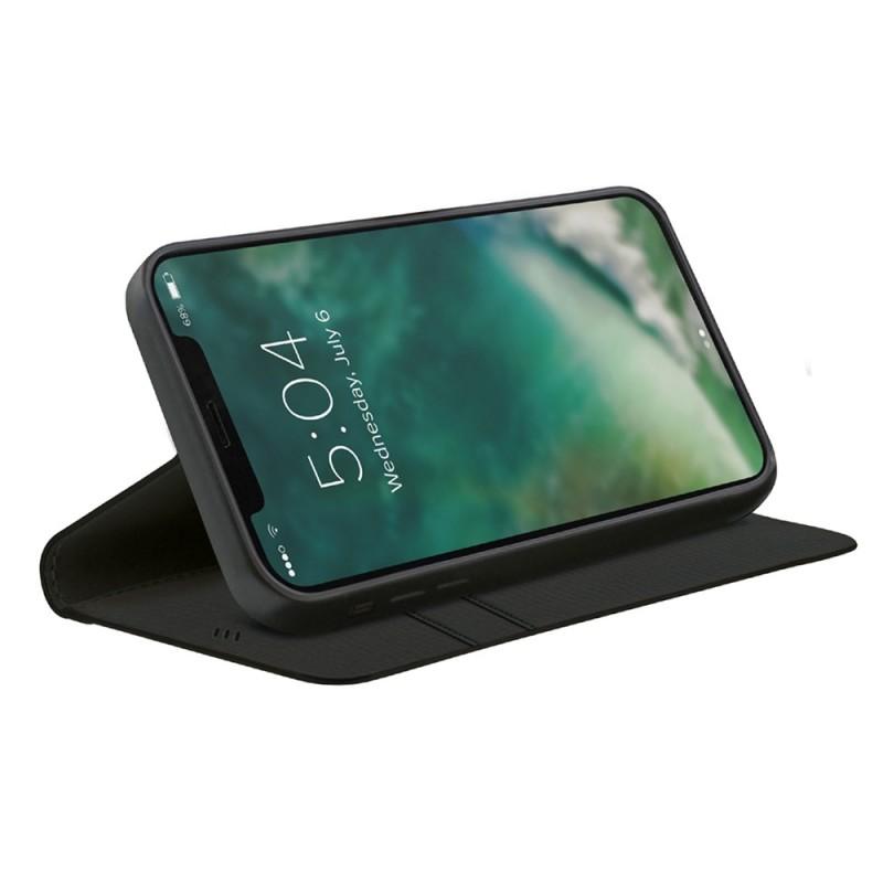 Xqisit Eco Wallet Hoesje Phone 12 Pro Max Zwart - 1