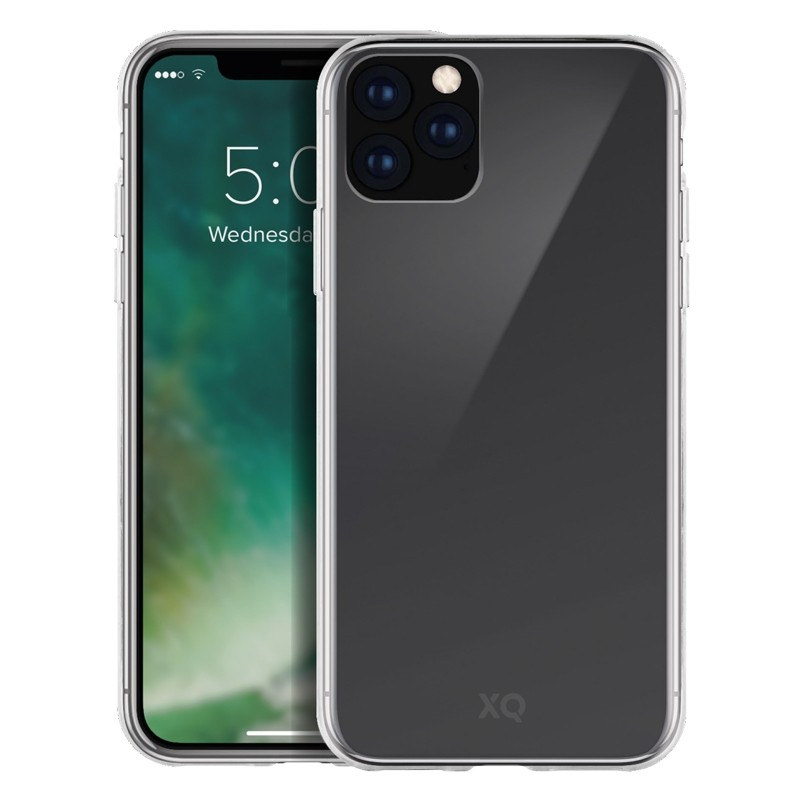 Xqisit Flex Case TPU Hoesje iPhone 11 Pro Transparant - 1