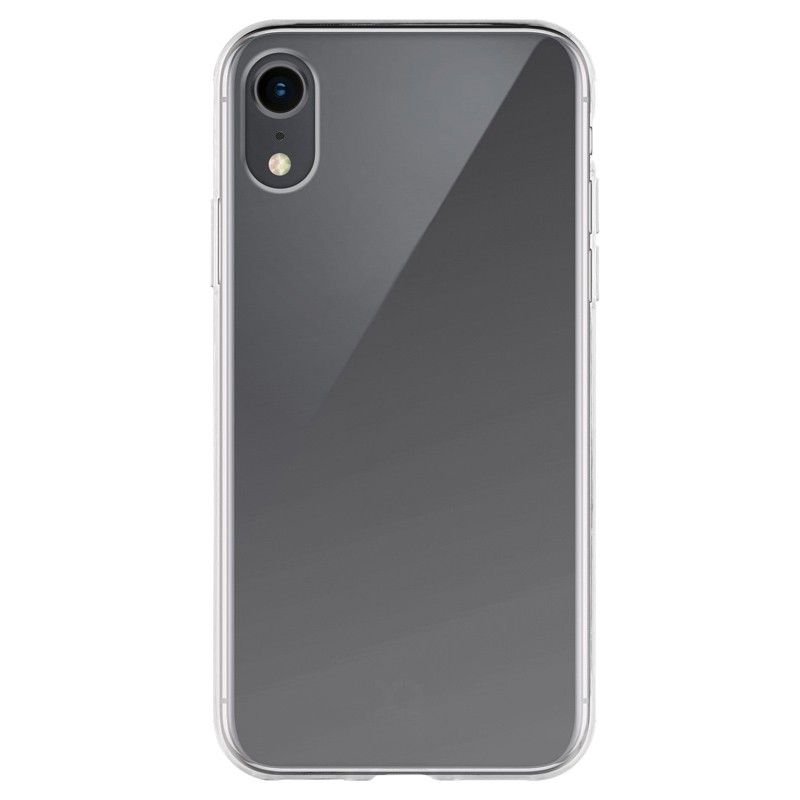 Xqisit FlexCase Transparant iPhone XR Hoesje Transparant 01