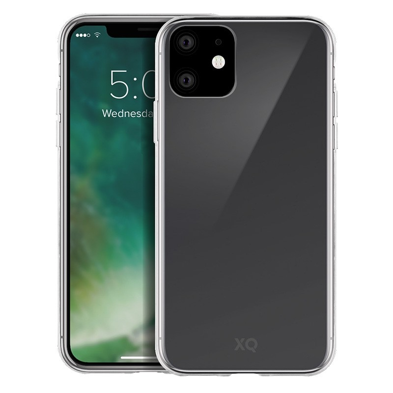 Xqisit Flex Case iPhone 11 TPU Hoesje Transparant - 1