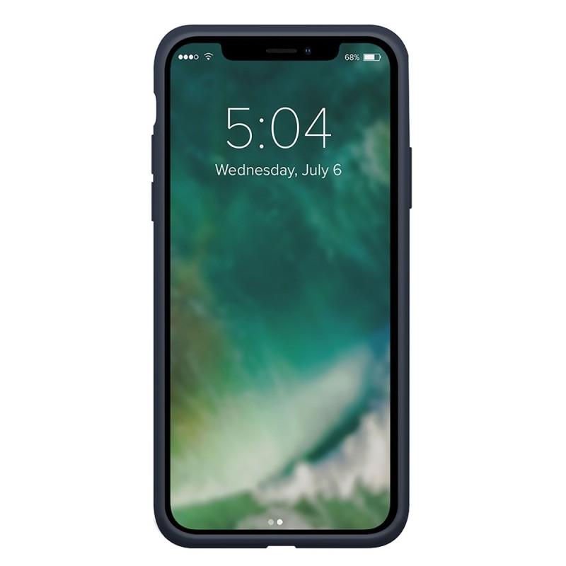 Xqisit Silicone Case iPhone 12 Mini 5.4 inch Blauw 02