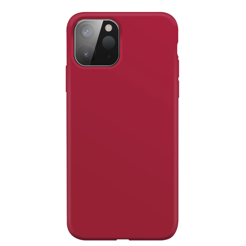 Xqisit Silicone Case iPhone 12 Pro Max 6.7 inch Rood 03