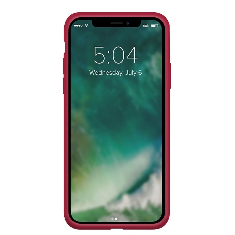 Xqisit Silicone Case iPhone 12 Pro Max 6.7 inch Rood 02