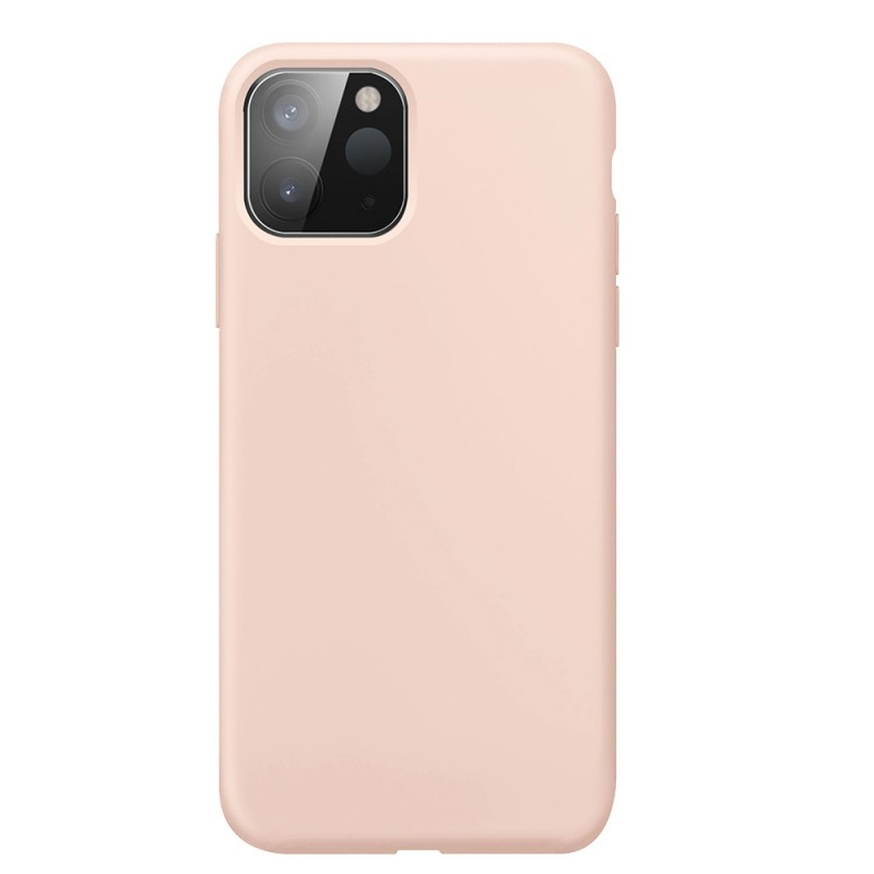 Xqisit Silicone Case iPhone 12 Pro Max 6.7 inch Roze 03