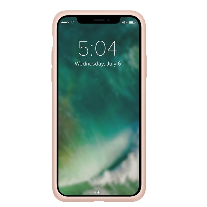 Xqisit Silicone Case iPhone 12 Pro Max 6.7 inch Roze 02