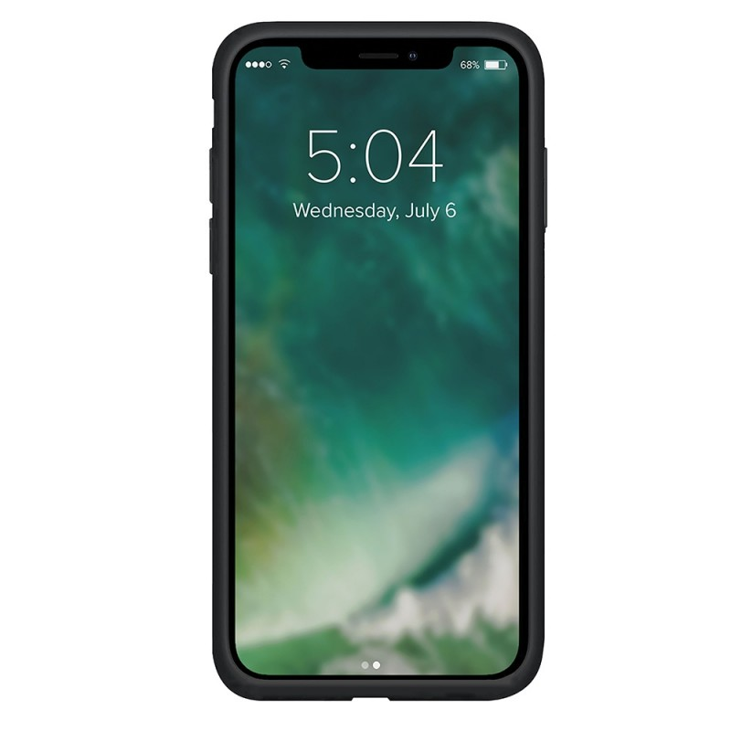 Xqisit Silicone Case iPhone 12 Pro Max 6.7 inch Zwart 02