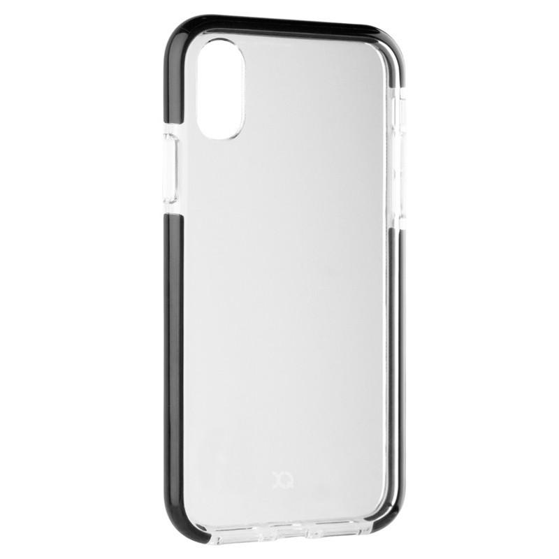 Xqisit Mitico Bumper iPhone XR Hoesje Zwart Transparant 04