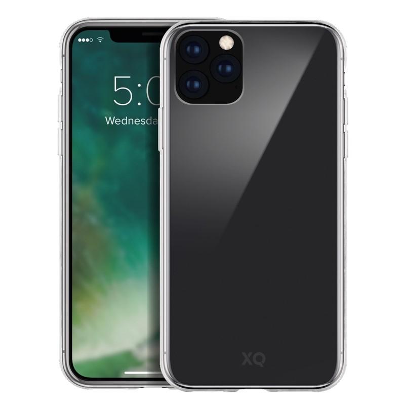 Xqisit Phantom Glass Case iPhone 11 Pro Max Transparant - 1