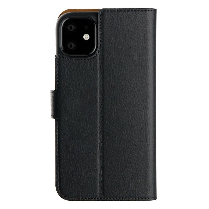 Xqisit Slim Wallet Selection iPhone 11 Hoesje Zwart - 2