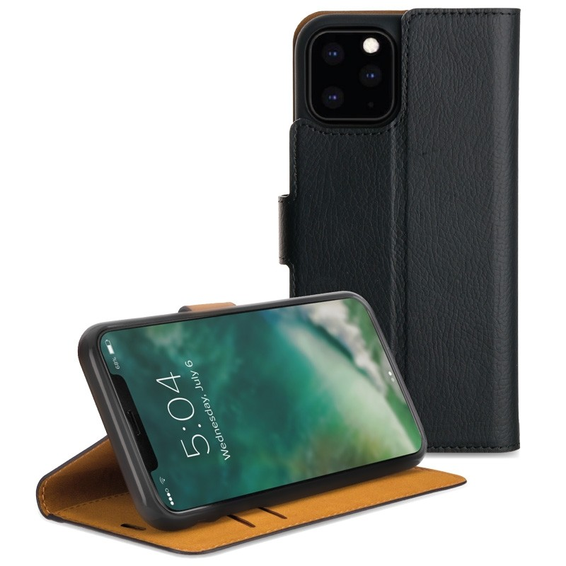 Xqisit Slim Wallet Case iPhone 11 Pro Zwart - 1