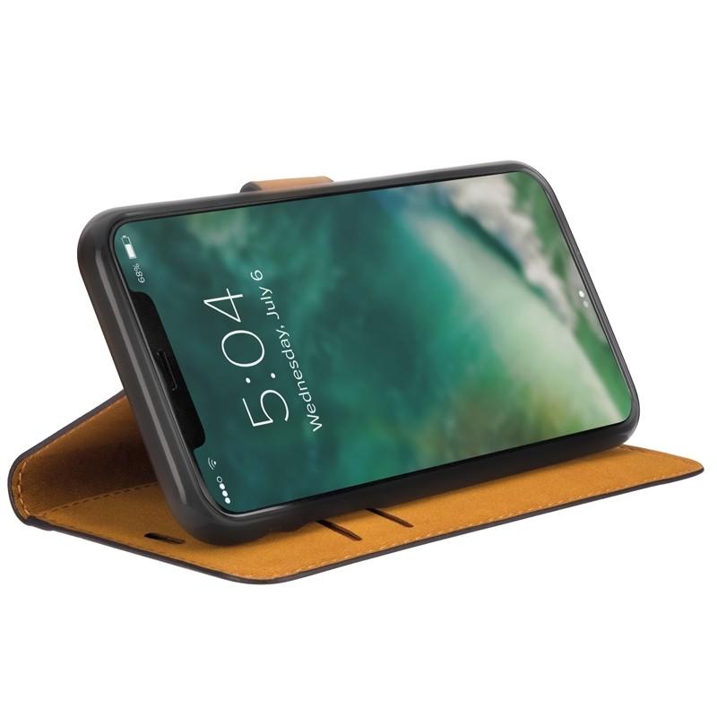 Xqisit Slim Wallet Selection iPhone 11 Hoesje Zwart - 3