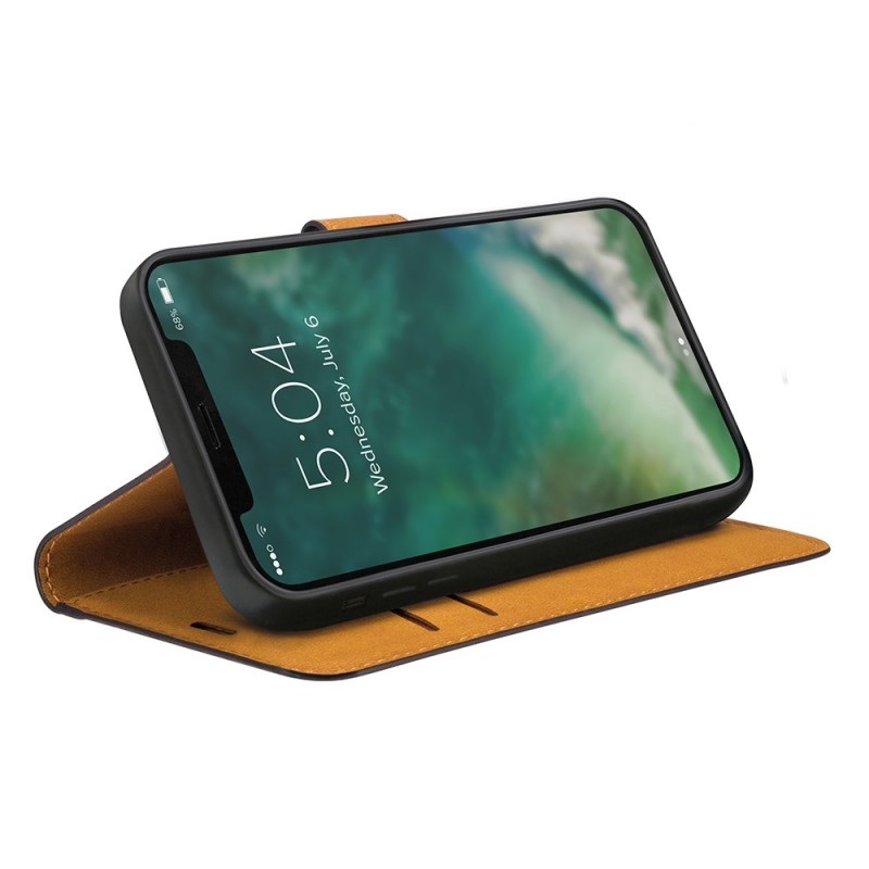 Xqisit Slim Wallet Selection iPhone 12 / 12 Pro 6.1 Zwart - 2