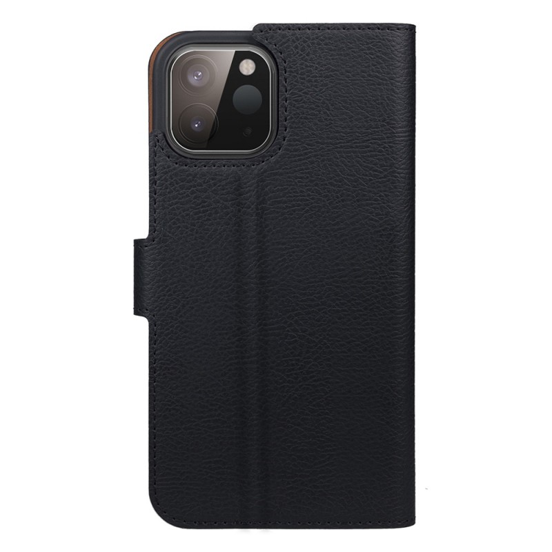 Xqisit Slim Wallet Selection iPhone 12 Mini Zwart - 3