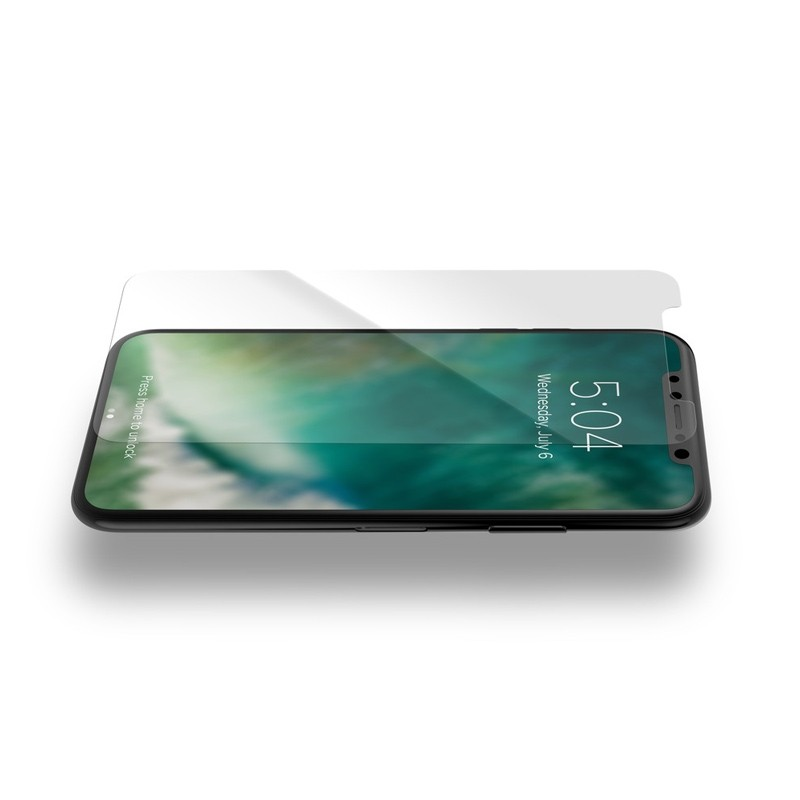 Xqisit Tough Screen Glass Protector iPhone XS Max Clear 02