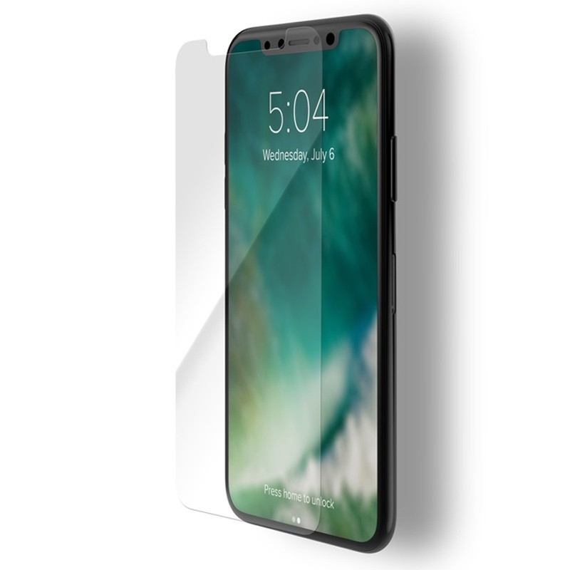 Xqisit Tough Screen Glass Protector iPhone XS Max Clear 01