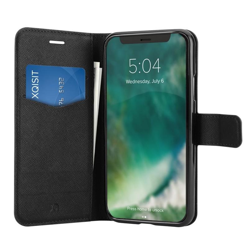 Xqisit Wallet Case Viskan iPhone XR Zwart 03