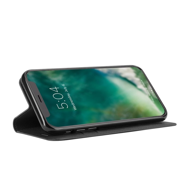 Xqisit Wallet Case Viskan iPhone XR Zwart 04