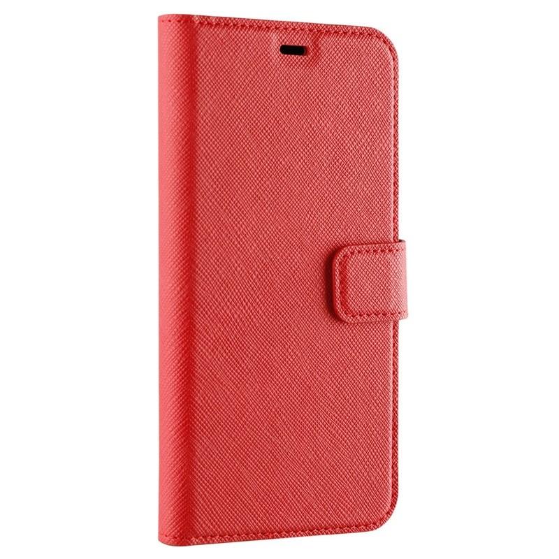 Xqisit Wallet Case Viskan iPhone XR Rood 05