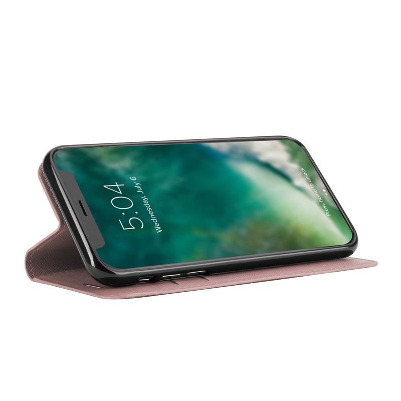 Xqisit Wallet Case Viskan iPhone XR Rose 04