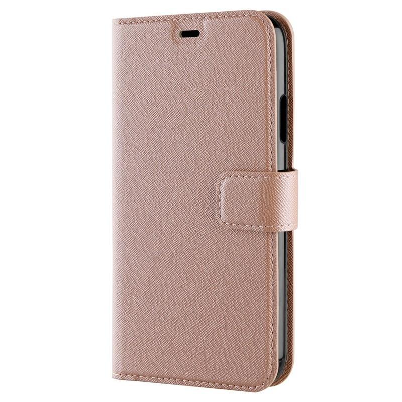 Xqisit Wallet Case Viskan iPhone XR Rose 06