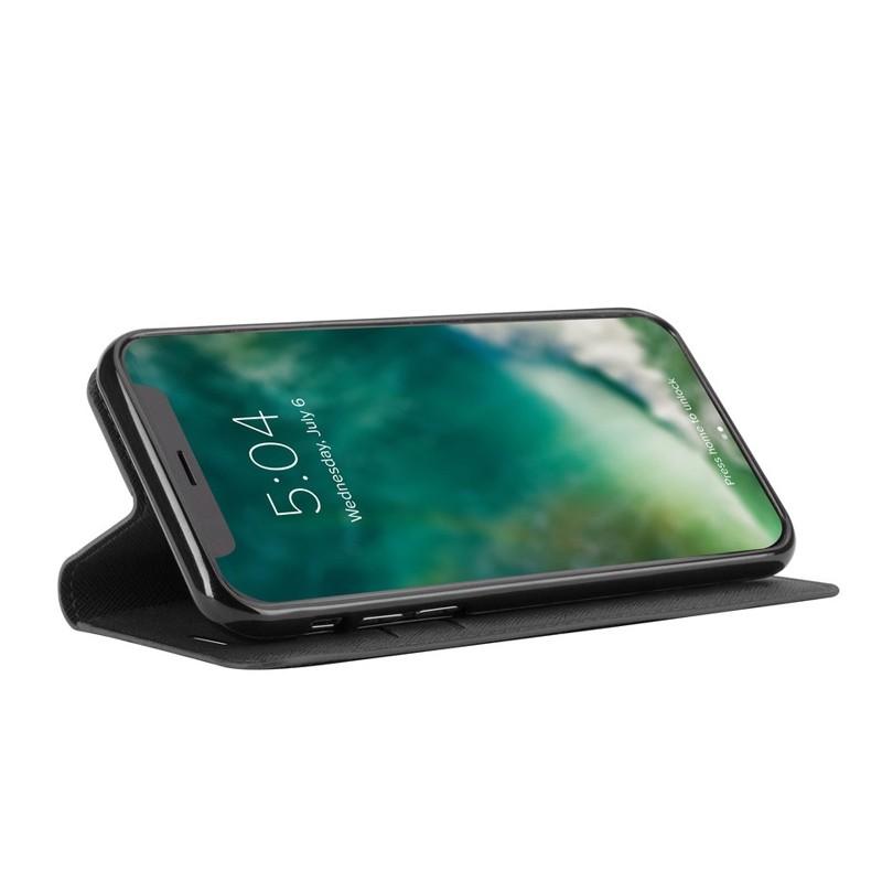 Xqisit Wallet Case Viskan iPhone XS Max Hoesje Black 03