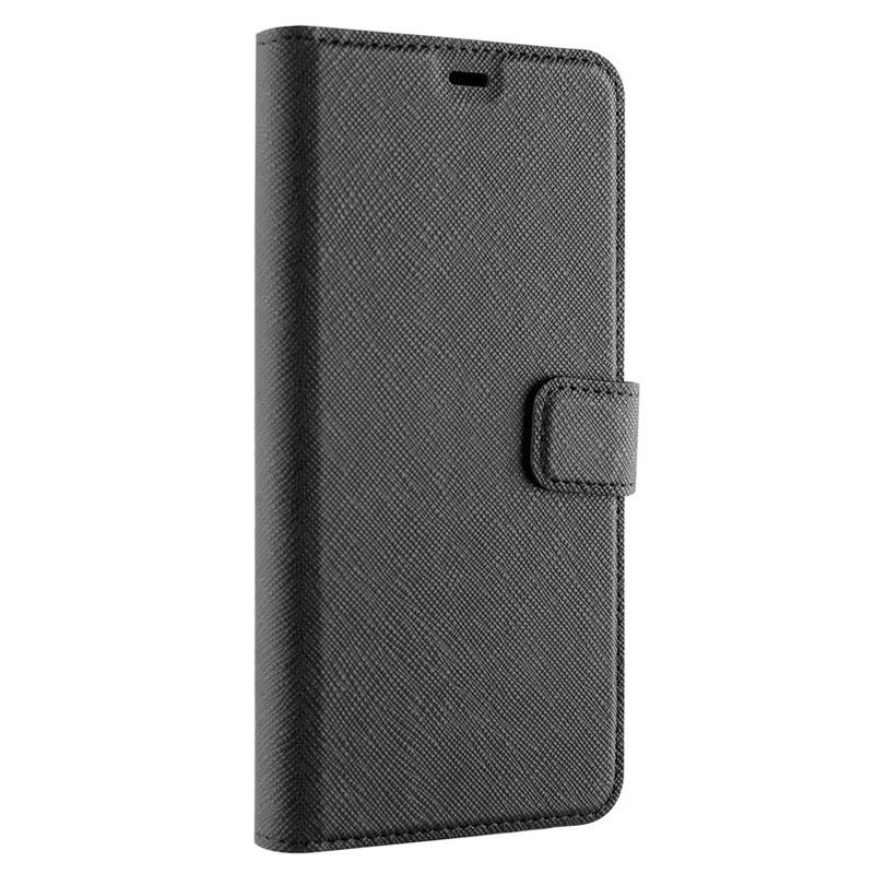 Xqisit Wallet Case Viskan iPhone XS Max Hoesje Black 04