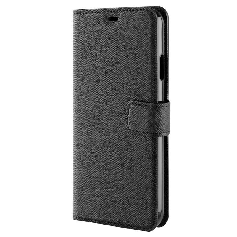 Xqisit Wallet Case Viskan iPhone XS Max Hoesje Black 06