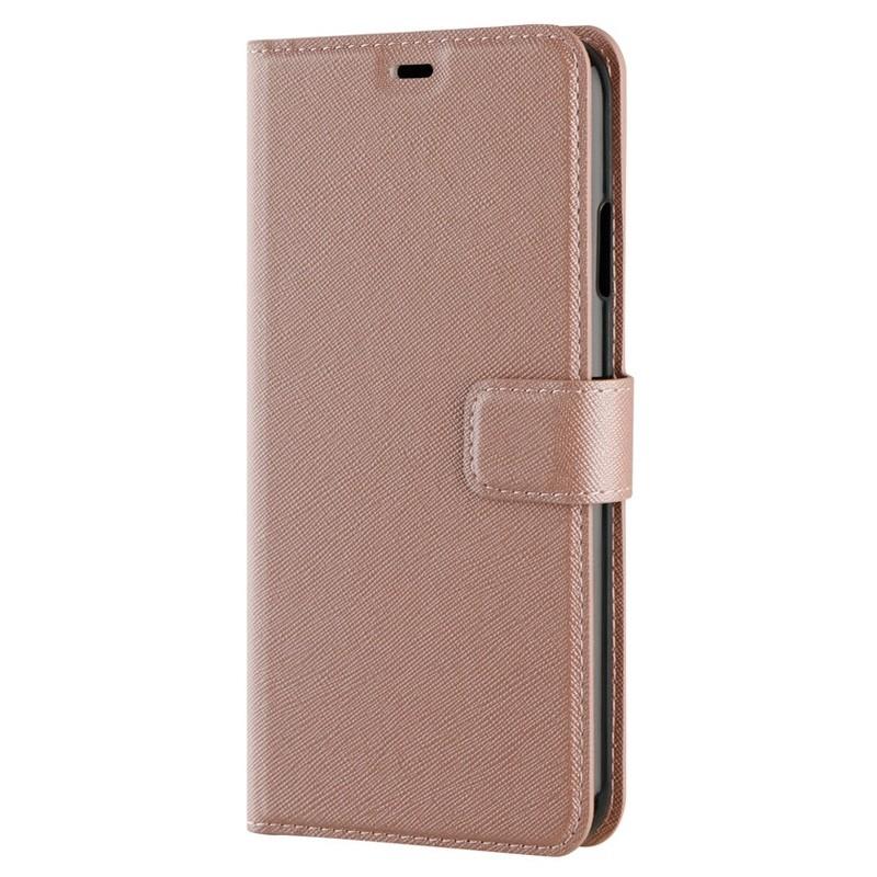 Xqisit Wallet Case Viskan iPhone XS Max Hoesje Roze 06