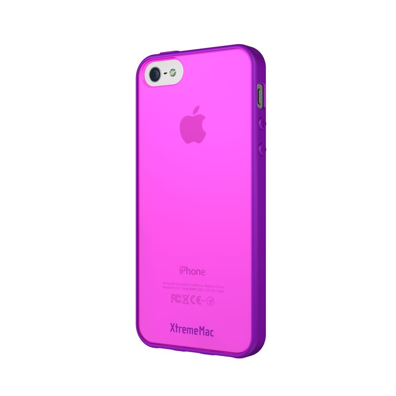 XtremeMac - Microshield Accent iPhone 5 (Purple-Pink) 02