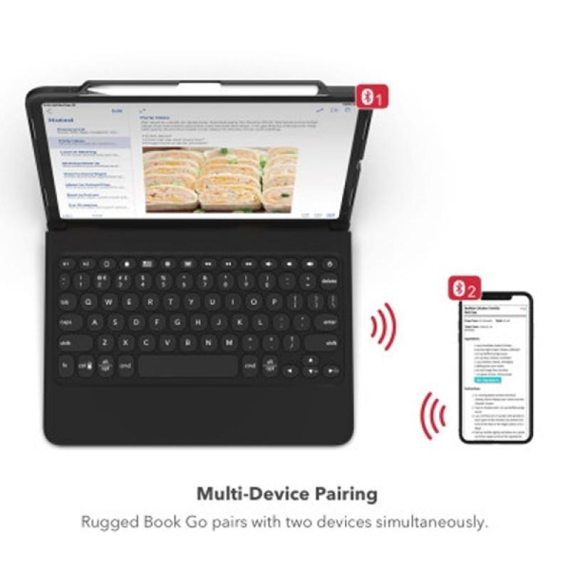 Zagg Rugged Book Go iPad Pro 11 inch extra stevige toetsenbord hoes - 6