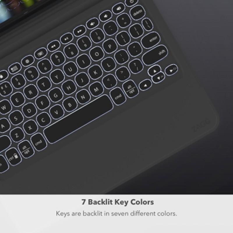 Zagg Slim Book Go iPad Pro 11 inch Toetsenbord Case - 9