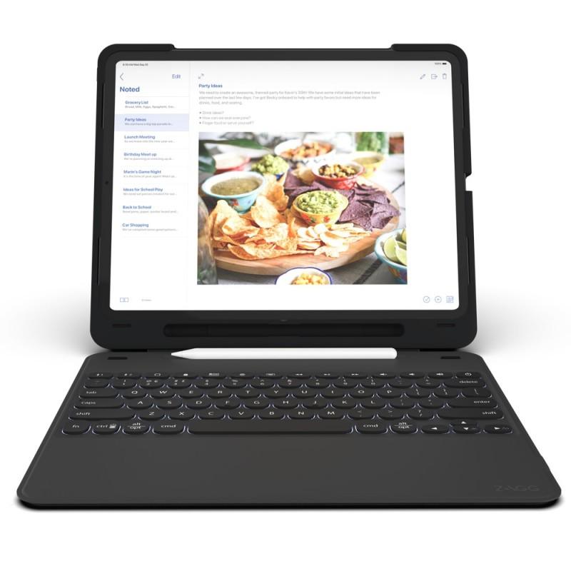 Zagg Slim Book Case iPad Pro 12.9 inch (2018) - 1