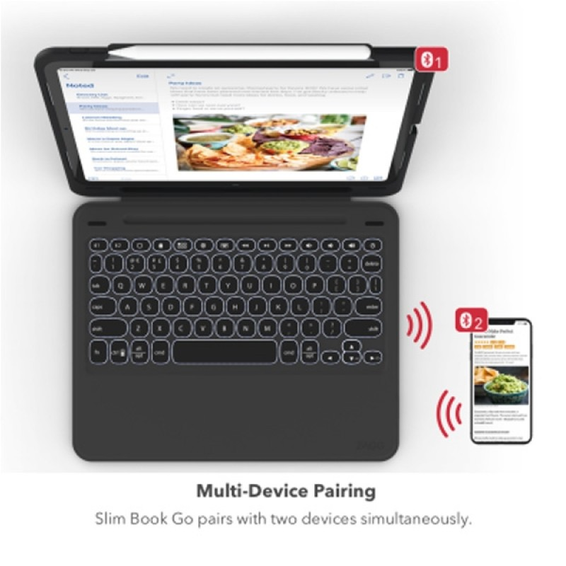 Zagg Slim Book Case iPad Pro 12.9 inch (2018) - 7
